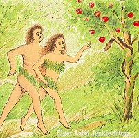 Adam & Eve cigar box label
