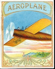Aeroplane outer cigar label