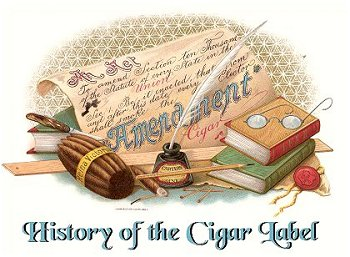 history of cigar box labels