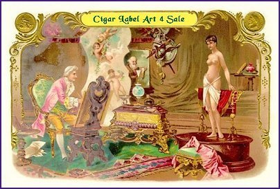 Cigar Label Art 4 Sale cigar label