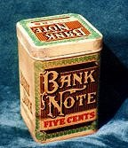 bank note tin2 cigar label art