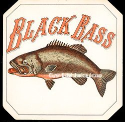 Black Bass outer cigar label
