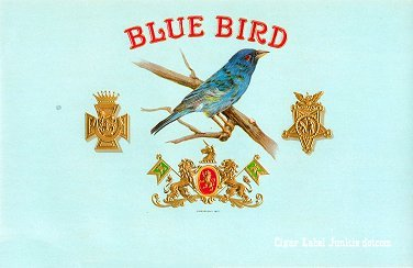 Blue Bird inner cigar label