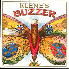 Buzzer K outer cigar label