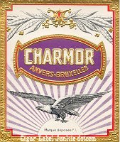 Charmor outer cigar box label