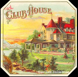 Club House-outer cigar label