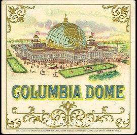 Columbia Dome-outer cigar label