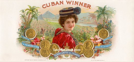 Cuban Winner inner cigar label