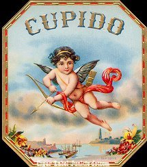 Cupido outer cigar label