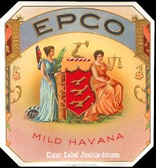 EPCO outer cigar label