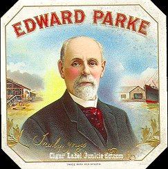 Ed Parke outer cigar label