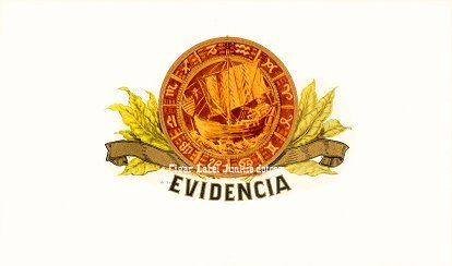 Evidencia inner cigar label