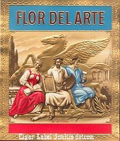 FD Arte outer cigar box label