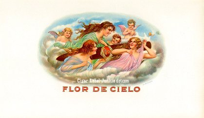 FD Cielo inner cigar label