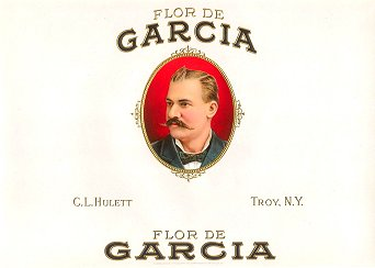 FD Garcia inner cigar label
