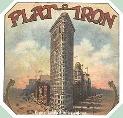 Flatiron Building outer cigar box label