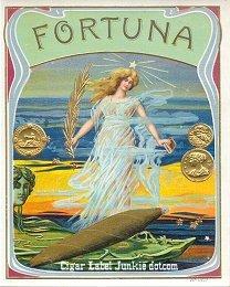 Fortuna outer cigar label