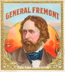 Gen Fremont outer cigar label