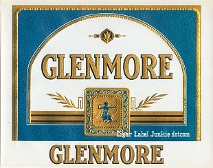 Glenmore inner cigar label
