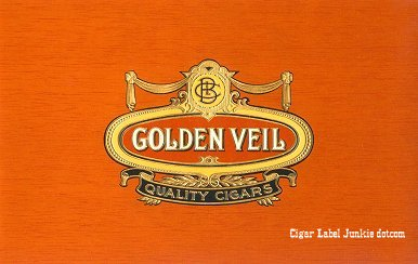 Golden Veil inner cigar label