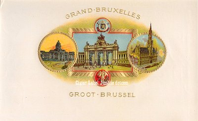 Grand Bruxelles inner cigar label