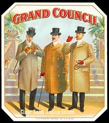 Grand Council outer cigar label