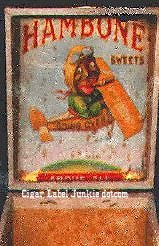 hambone 50 box cigar box label