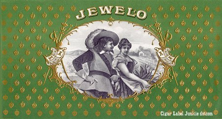 Jewelo inner cigar label