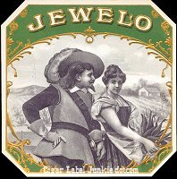 Jewelo outer cigar box label