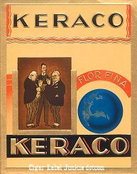 Keraco outer cigar label