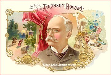 LFD Bronson Howard cigar label