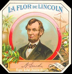LFD Lincoln outer cigar label