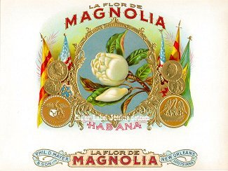 LFD Magnolia inner cigar label