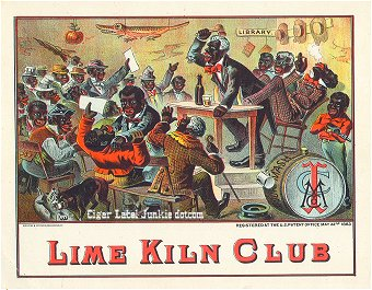 Lime Kiln Club-inner cigar label