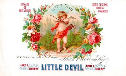 Little Devil inner cigar label