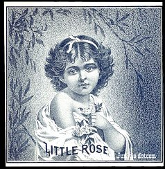 Little Rose outer cigar label