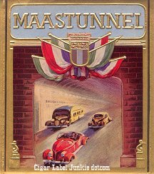 Maastunnel outer cigar label