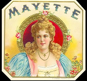 Mayette-outer cigar label