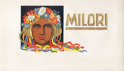 Milori inner cigar label