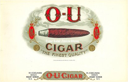OU Cigar-inner cigar label