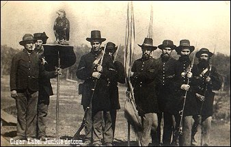 Old Abe color guard