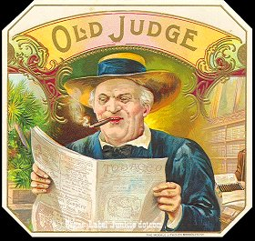 Old Judge-outer cigar label