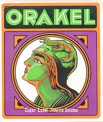 Orakel outer cigar label