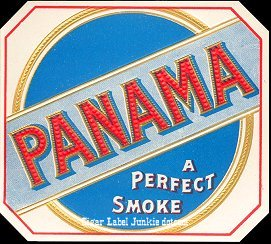 Panama outer cigar label