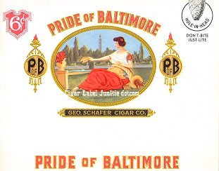Pride of Baltimore inner cigar label