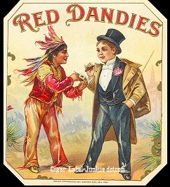 Red Dandies-outer cigar label