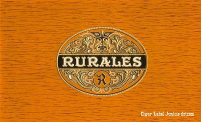Rurales inner cigar label