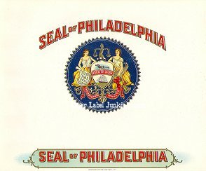 Seal of Philadelphia inner cigar label