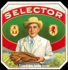 Selector outer cigar label