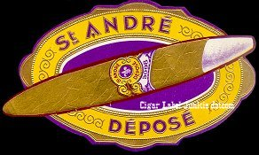 St Andre outer cigar label